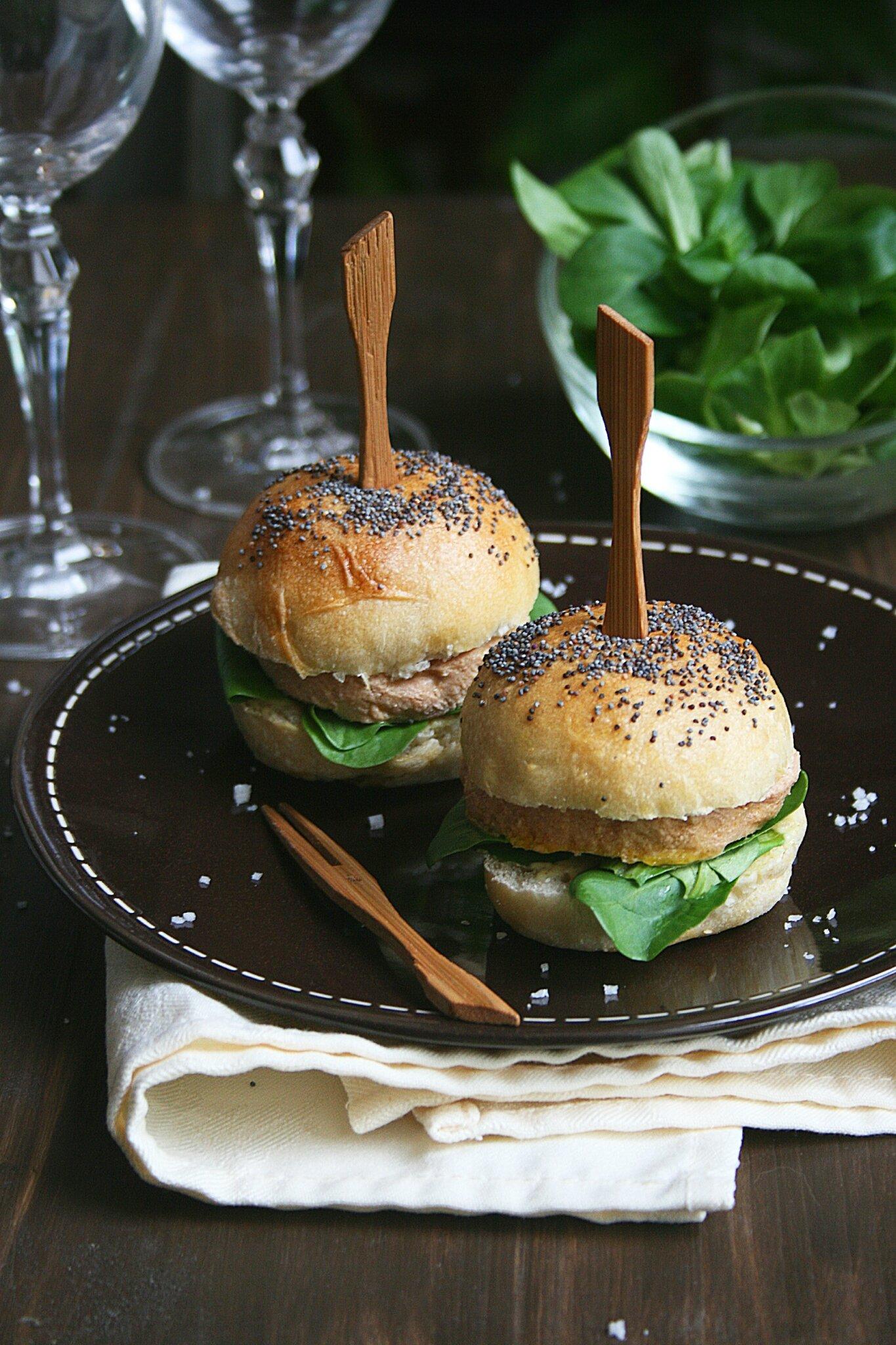 Burgers au foie gras