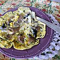 Omelette à l'huile de truffe