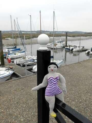 ma Chubby Beach Lady Doll