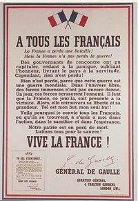 affiche 18 juin1940