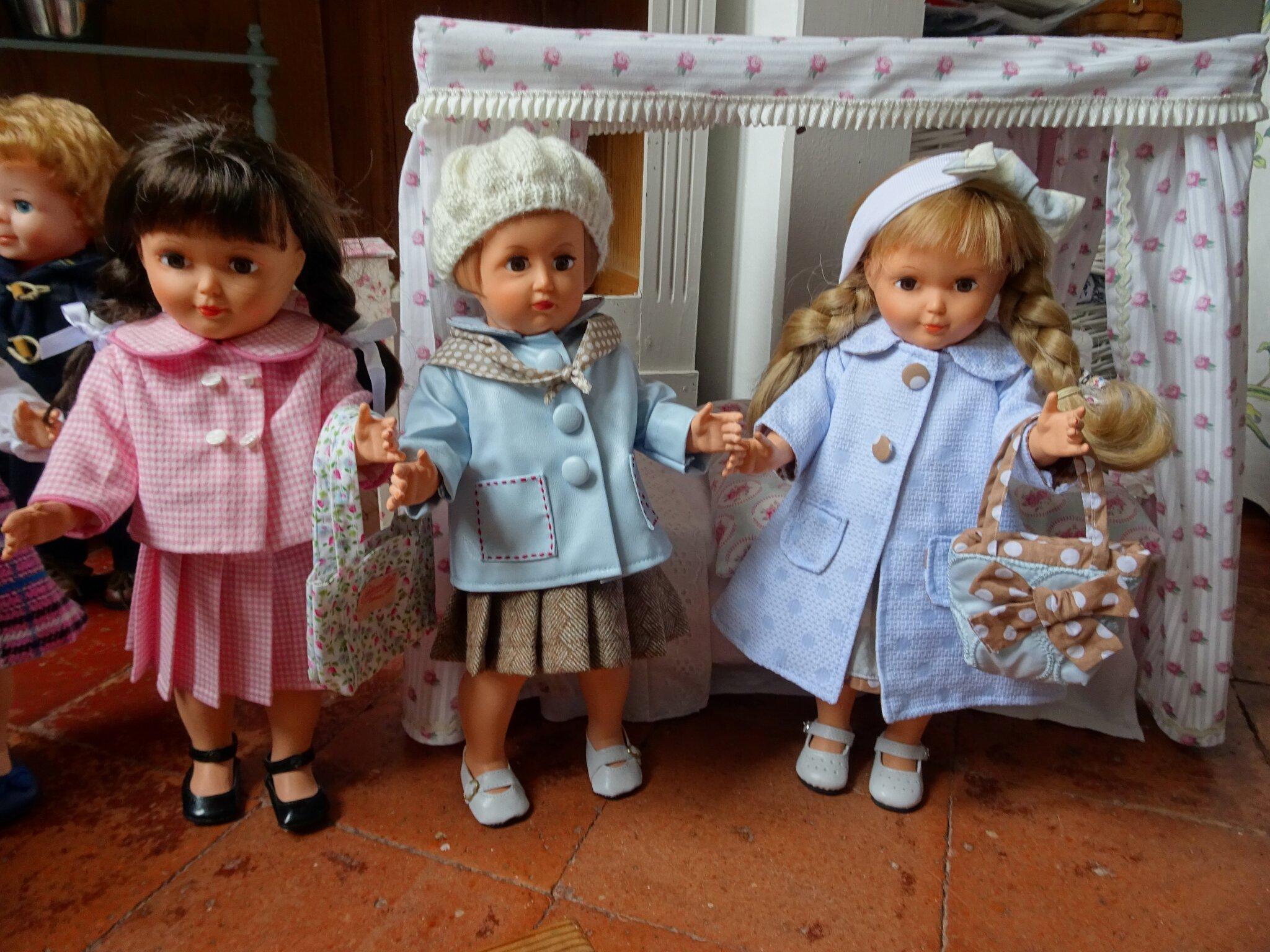 Les poupées sont pretent pour le printemps.