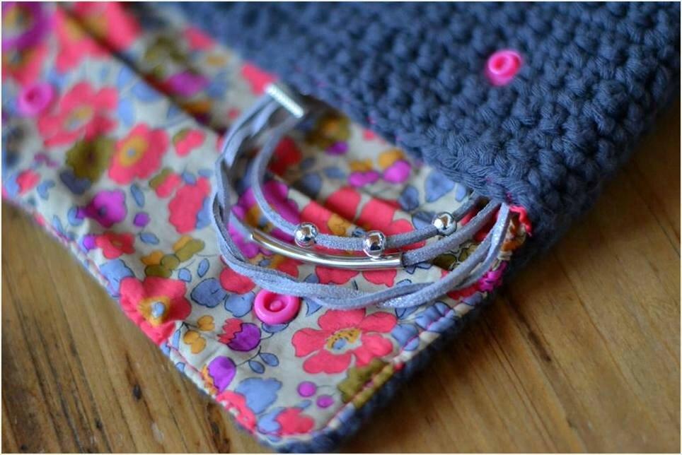Tissus + Crochet = Cadeau d'anniversaire