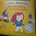 Mon imagier des chansons de la maternelle, illustré par charlotte roederer