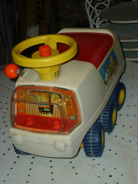 fisher Price camion porteur