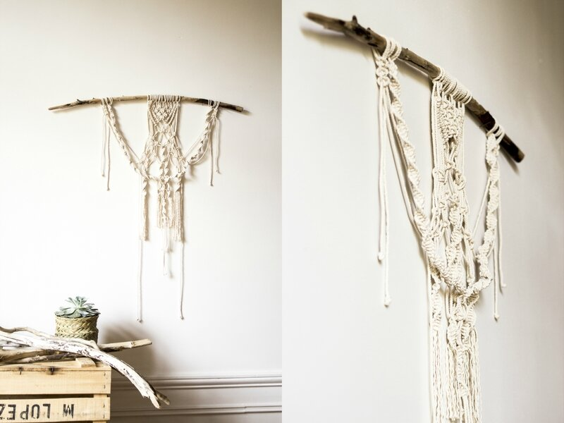 tenture deco macrame boho trendy little
