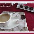 Petits chocolats au café