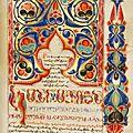 L'art religieux arménien exposé au scriptorial d'avranches (50)