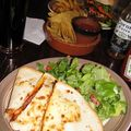Quesilladas mexicaines, Londres 2010.