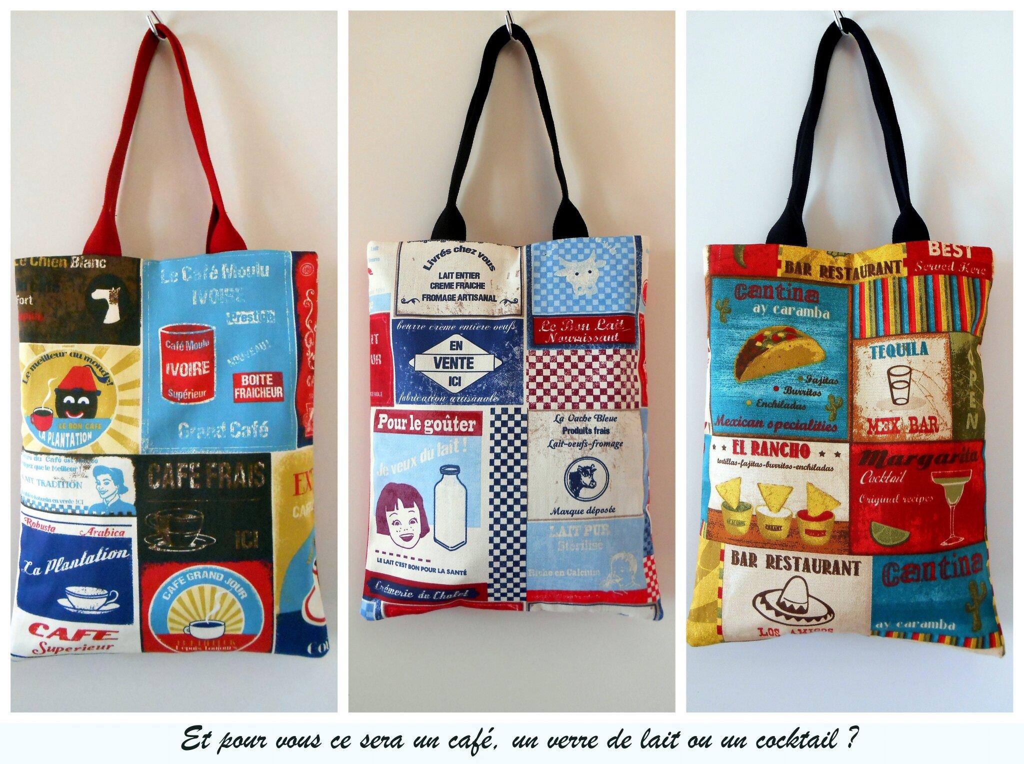 Connu Le sac cabas fait sa pub - clocreations EL32