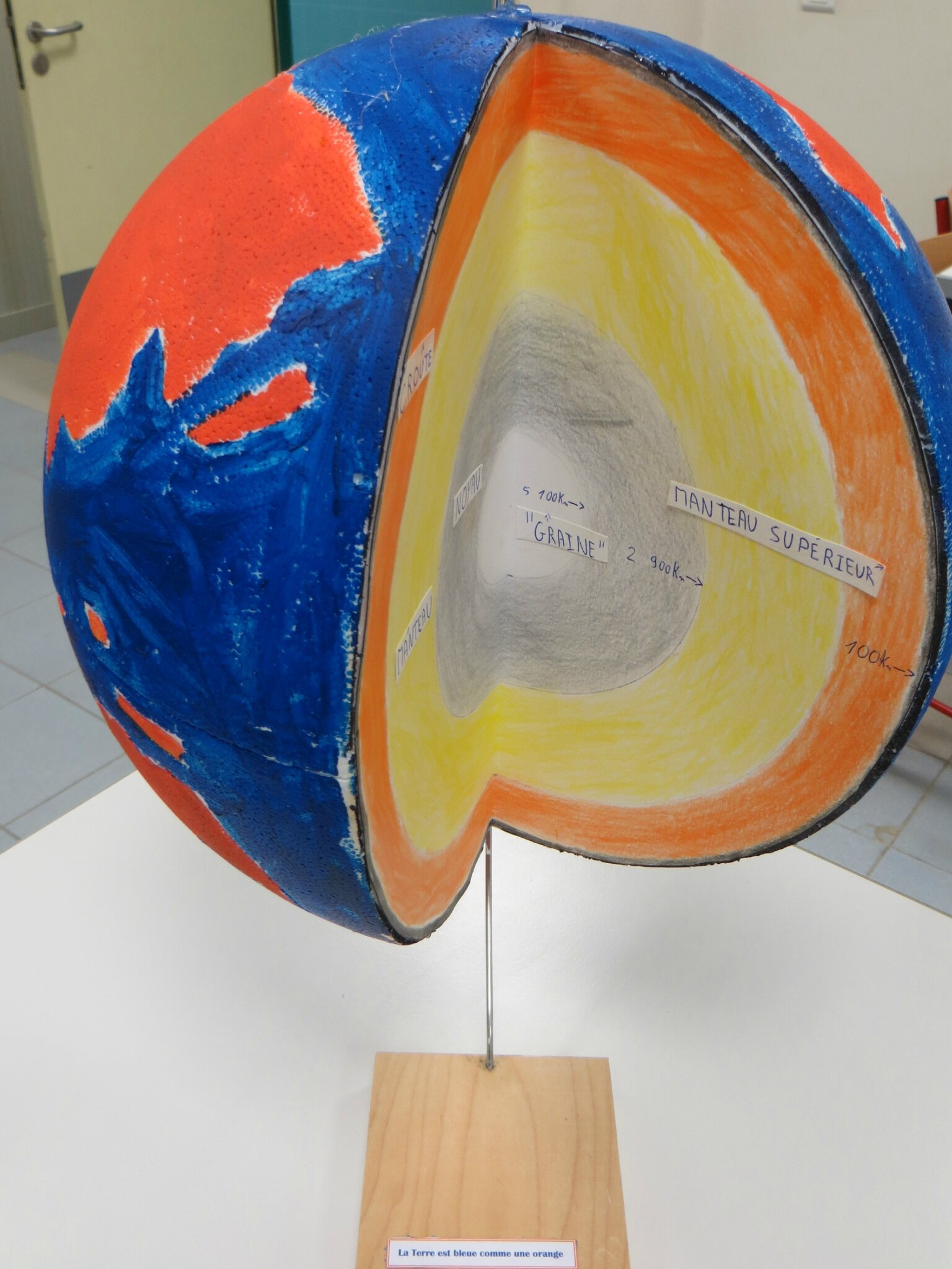 La Terre est bleue comme une orange\