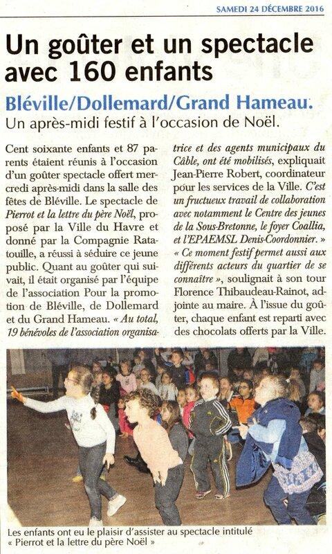 Havre presse 2016-12-24 gouter de Noël