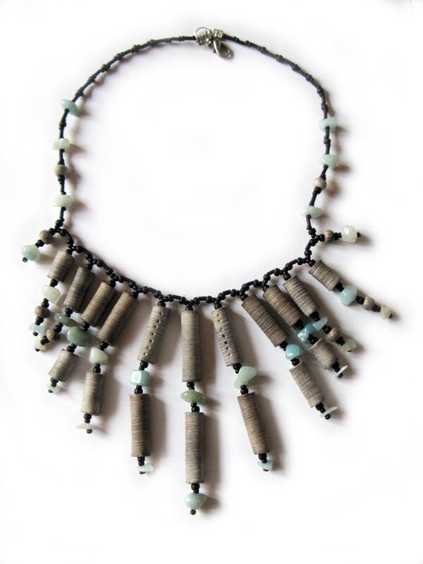 Perles texturées à la lame - 25/04/2011