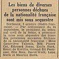 30 vendredi 4 octobre 1940