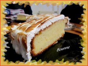 Gâteau citron fourré et meringué (10)