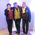 avec Patricia et Patricia-Sylvie!