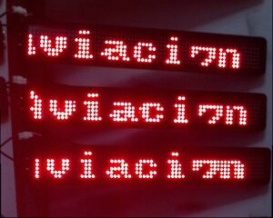 led display afficheur led javascript html canvas how to make