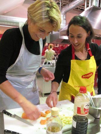 Atelier Maggi 10 janvier - Les Astucieuses - Marikiki et Requia