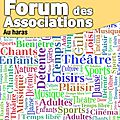 Forum des associations 2016 à avranches - dimanche 4 septembre 2016