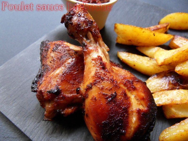 poulet sauce barbecue1