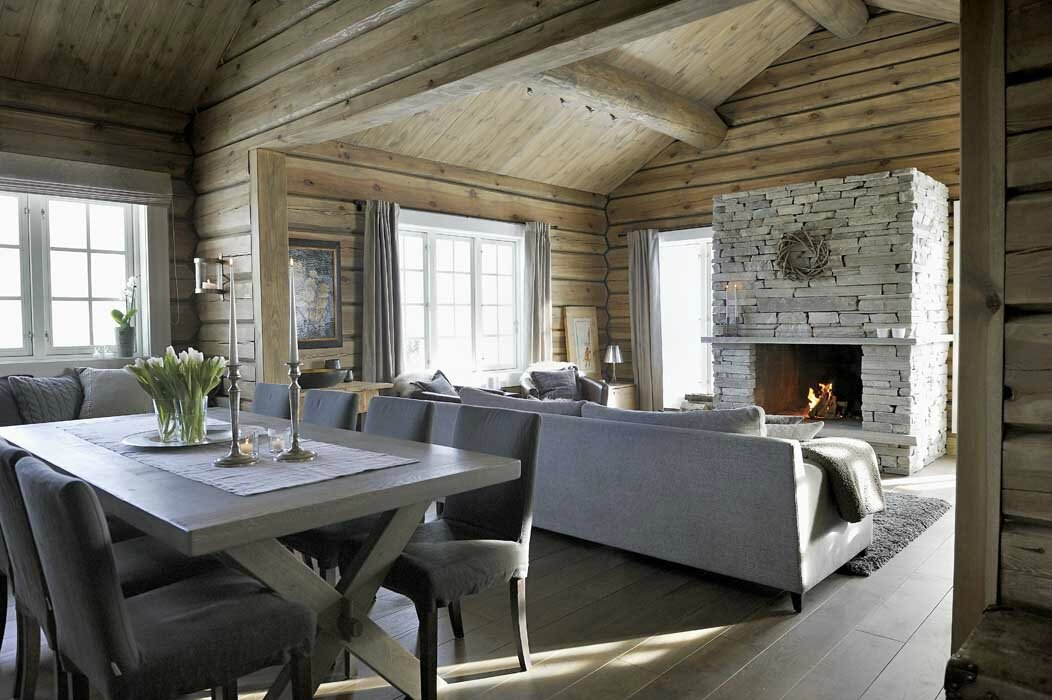 Un chalet ultra cosy sonia saelens d co for Interieur chic et cosy