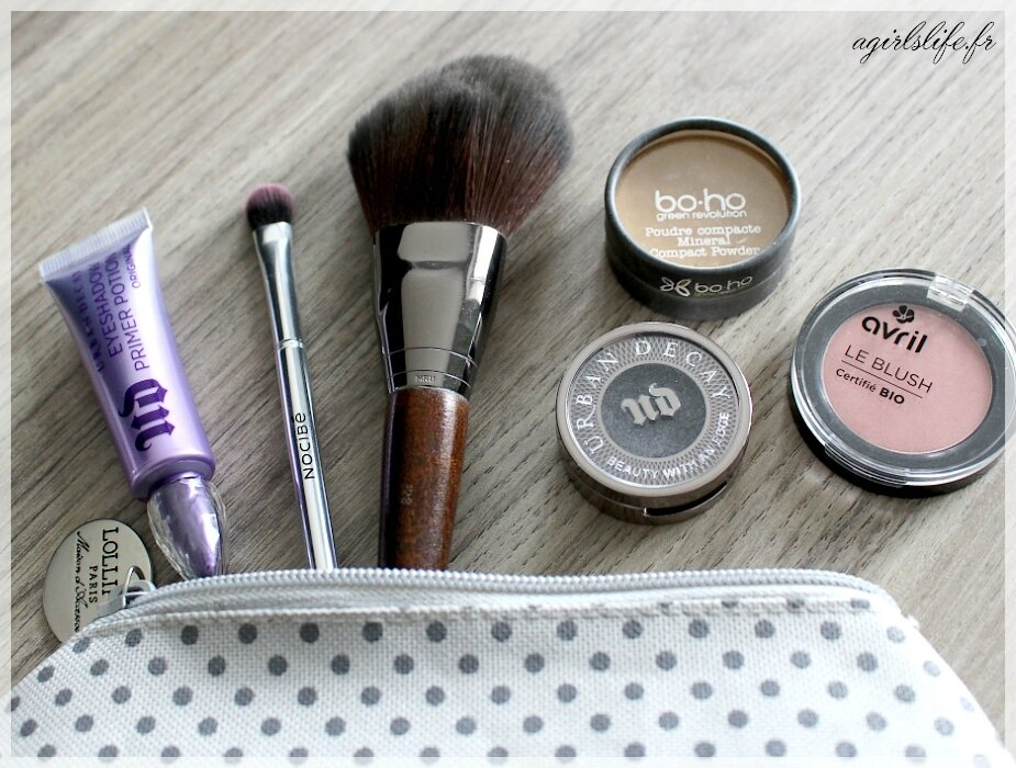 Ma trousse à maquillage en 2017