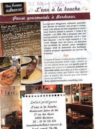 2011 Pub dans un mini magazine trouvé dans un Biocoop de Plessis Robinson