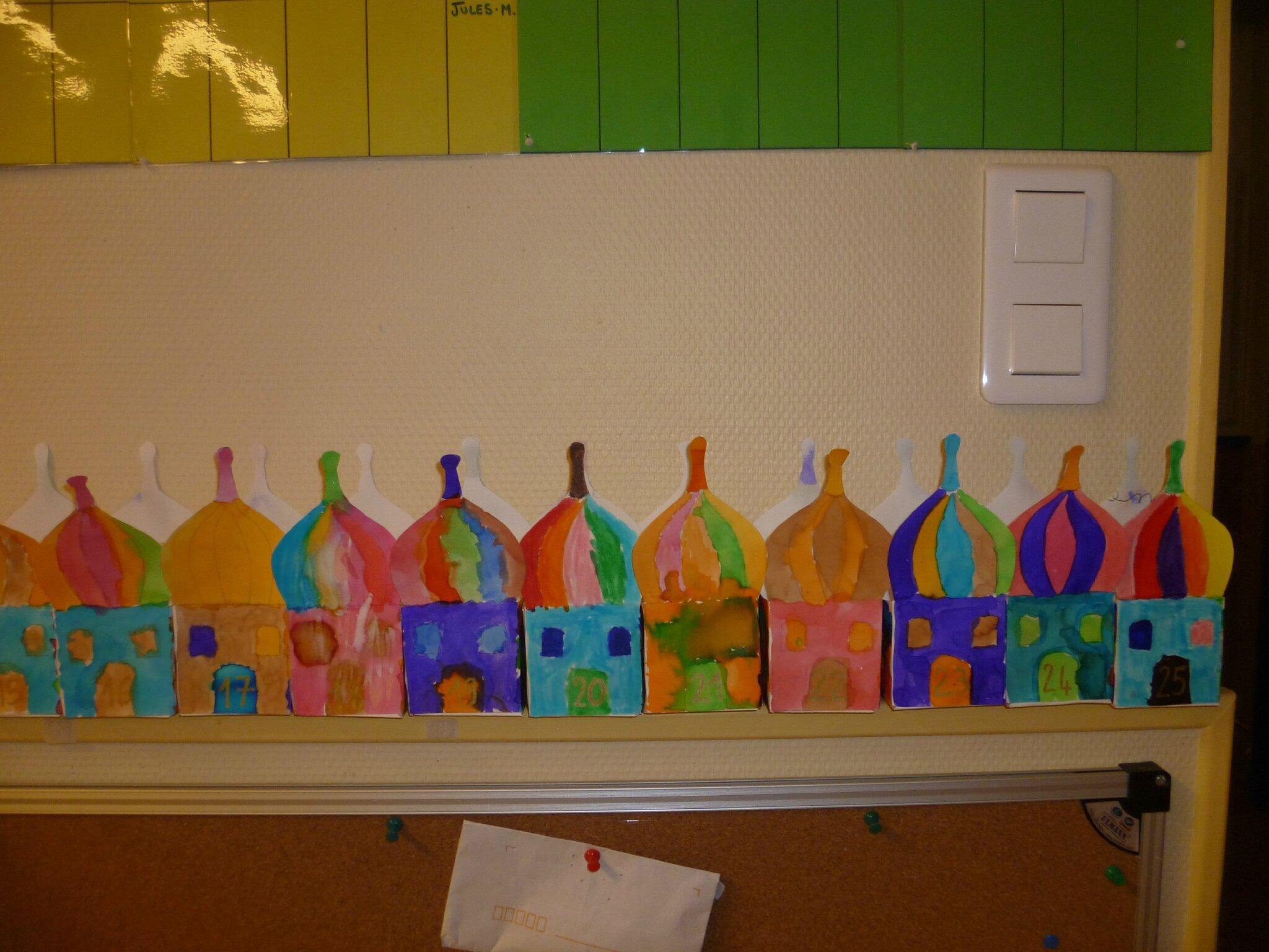 Calendrier de l 39 avent 2012 l 39 cole c 39 est classe for Arts et decoration abonnement