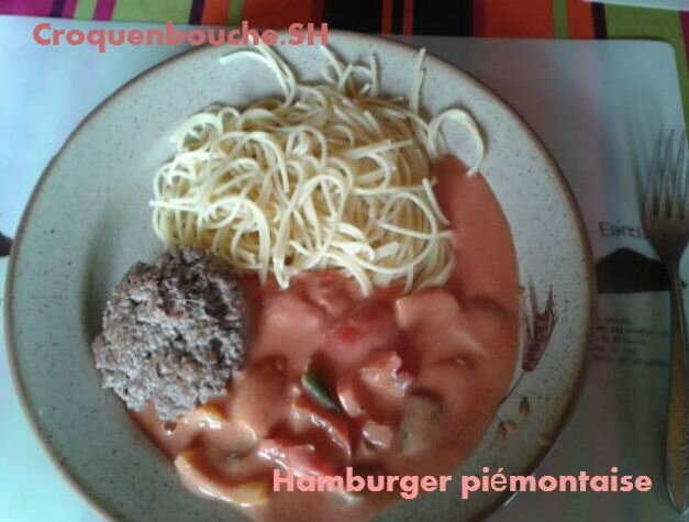 HAMBURGER PIEMONTAISE