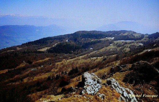 553) Rando pédestre sur le Grand Colombier (Ain)
