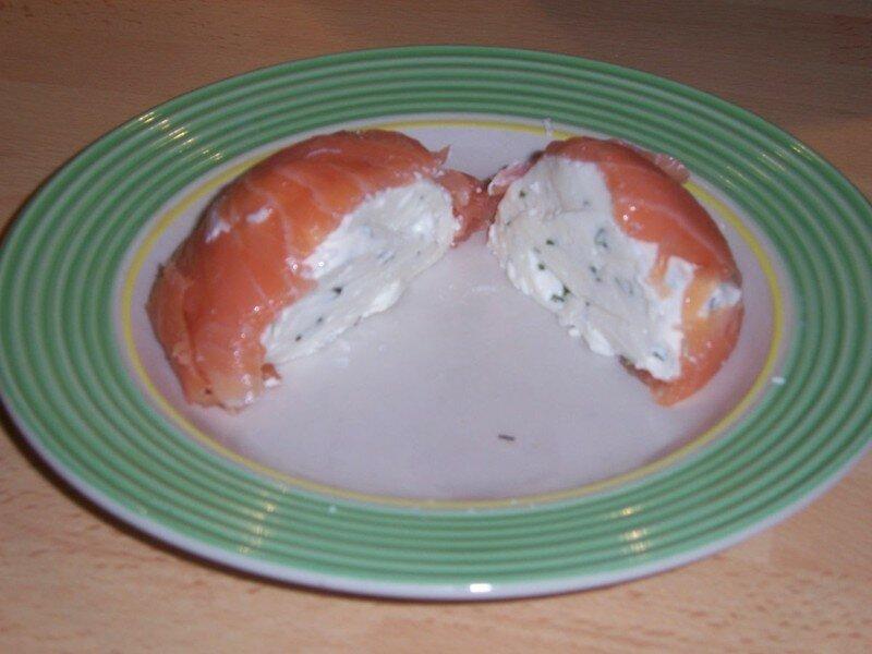 Terrine de faisselle au saumon fum la popotte de steffy - Entree simple et raffinee ...