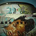 Street art : la gare routière plaza de armas à seville, une gare de toute beauté !