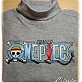 Premier tee-shirt avec plusieurs couleurs de flex