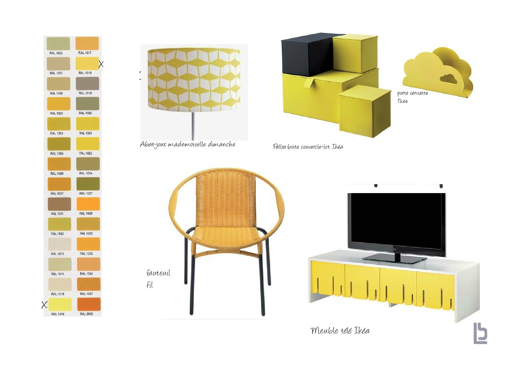 la tendance jaune la beau la d co. Black Bedroom Furniture Sets. Home Design Ideas