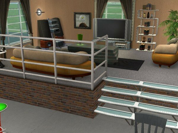 construire un demi tage maisons deco sims2. Black Bedroom Furniture Sets. Home Design Ideas