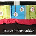 Tour de lit Matrioskas