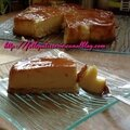 Flan coco et nappage caramel