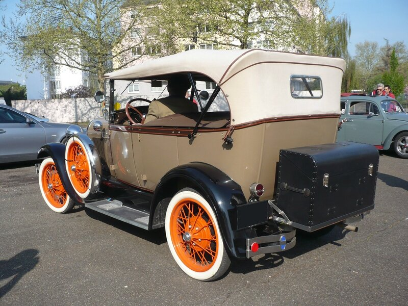 FORD Model A 4door Phaeton 1928 Strasbourg (2)