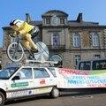 Tour de france 2013 : l'étape avranches - le mont-saint-michel annulée à cause de la venue du pape françois dans le sud manche