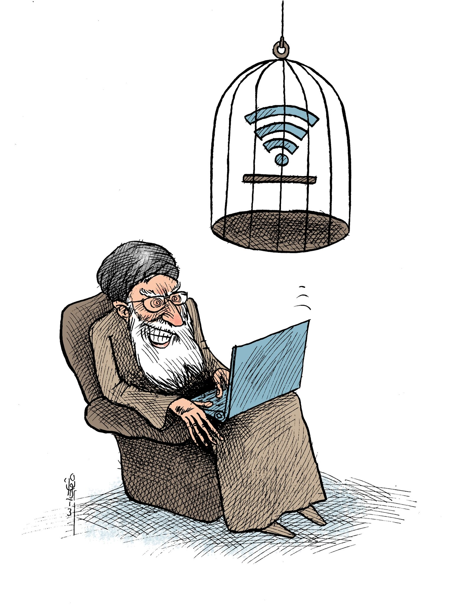 Iranian-Internet-free-or-forbidden