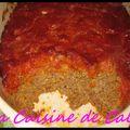 Meat loaf, pain de viande américain et sa sauce