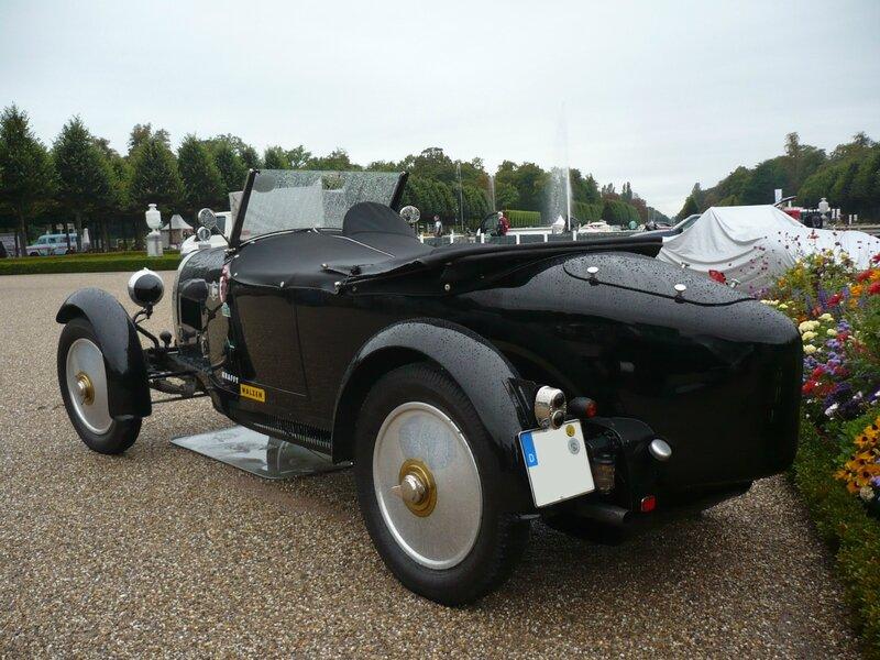 BUGATTI type 40 roadster 1926 Schwetzingen (2)