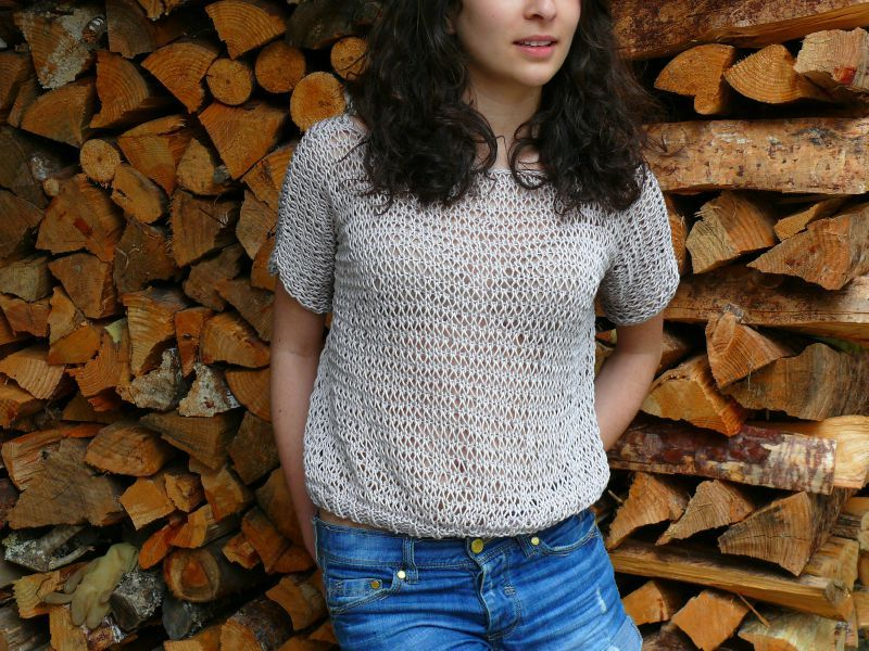 maille liseuse tricot