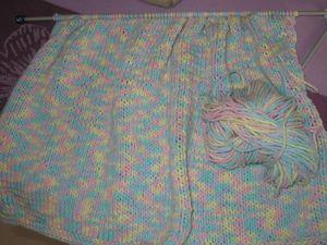 Pull multicolore pastel