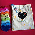 Cousettes # sac à bisous !