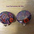 Clips Cachemire violet 15 euros