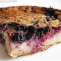 Clafoutis aux fruits rouges au lait d