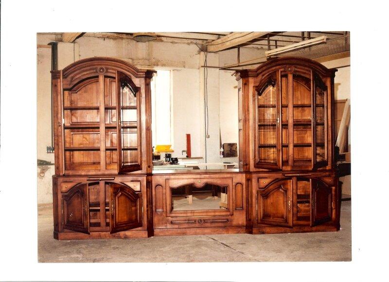 Biblioth que aquarium encastr photo de meubles - Meubles traditionnels ...