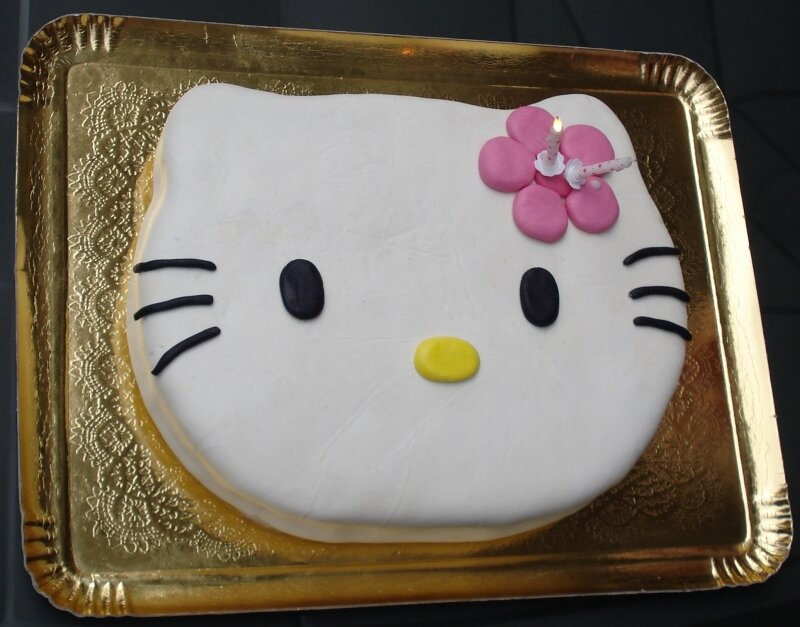Gâteau Hello Kitty 6