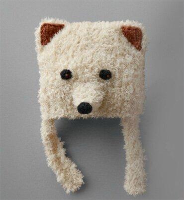 patron tricot bonnet renard