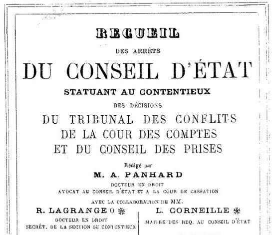 1920 le 14 mai Arrêt du conseil d'état_1